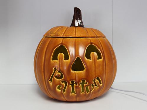 Personalized Ceramic Pumpkin