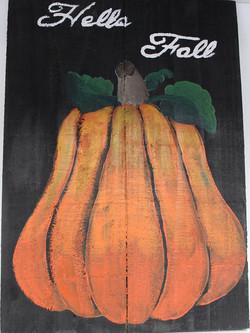 Board Art Pumpkin