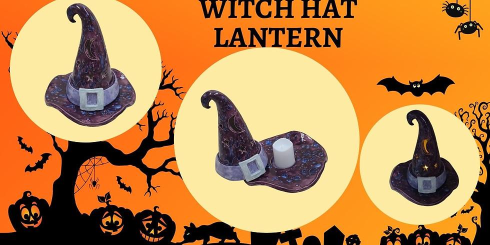 Witch Hat Lantern Clay Workshop