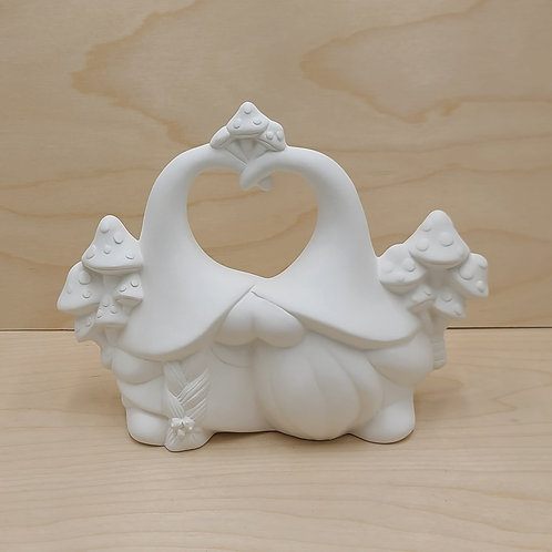 Mushroom Lovers Gnome Pottery to Go