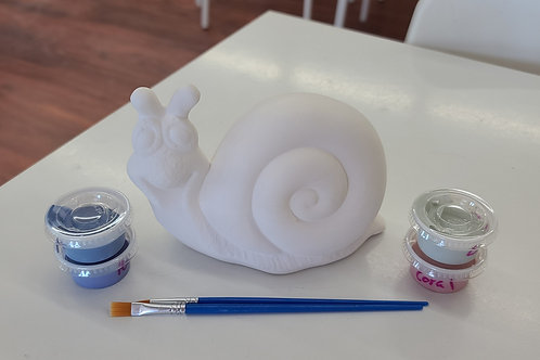 Garden Snail Pottery to Go Kit