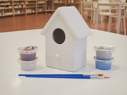 Plain Birdhouse Pottery to Go Kit