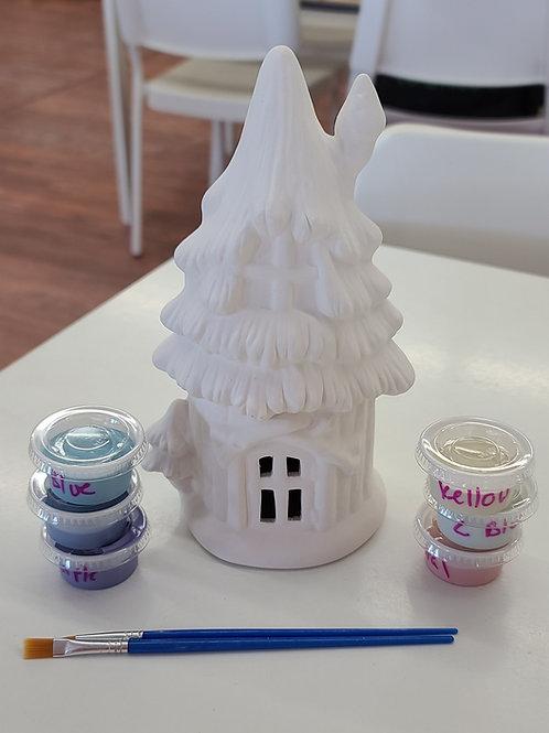Fairy House (1822)Pottery to Go Kit