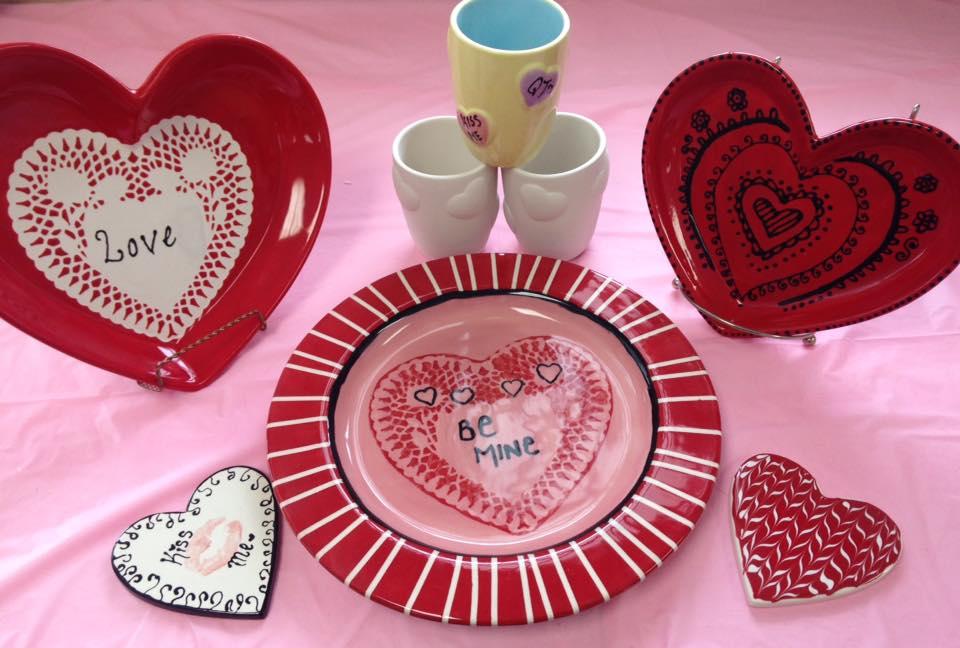 Valentine's on Pottery