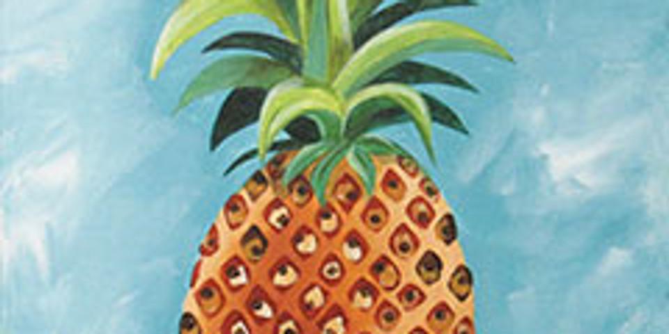 "Canvas""Pineapple"""