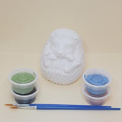 Hedgehog Pottery to Go Kit