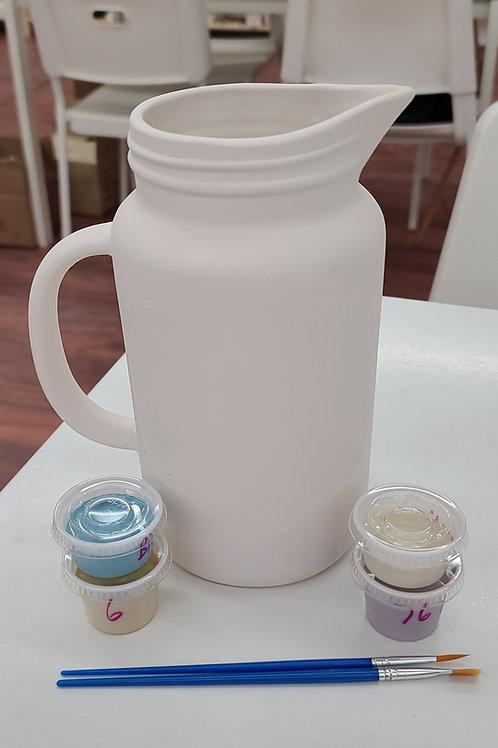Mason Jar Pitcher Pottery to Go Kit