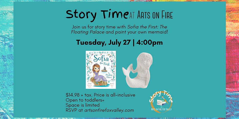 """Story Time """"Sofia the First: The Floating Palace"""""""