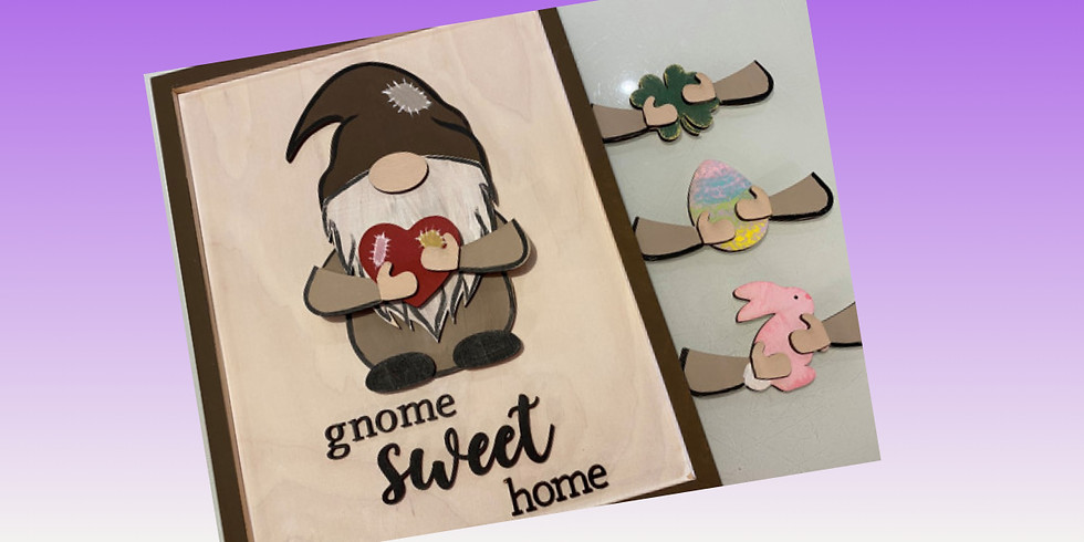 All Seasons Gnome Sign 2/27