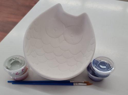 Owl Bowl Pottery to Go Kit