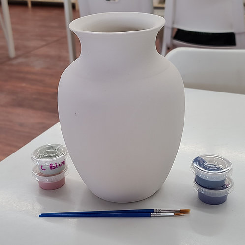 Large Gloria Vase Pottery to Go Kit