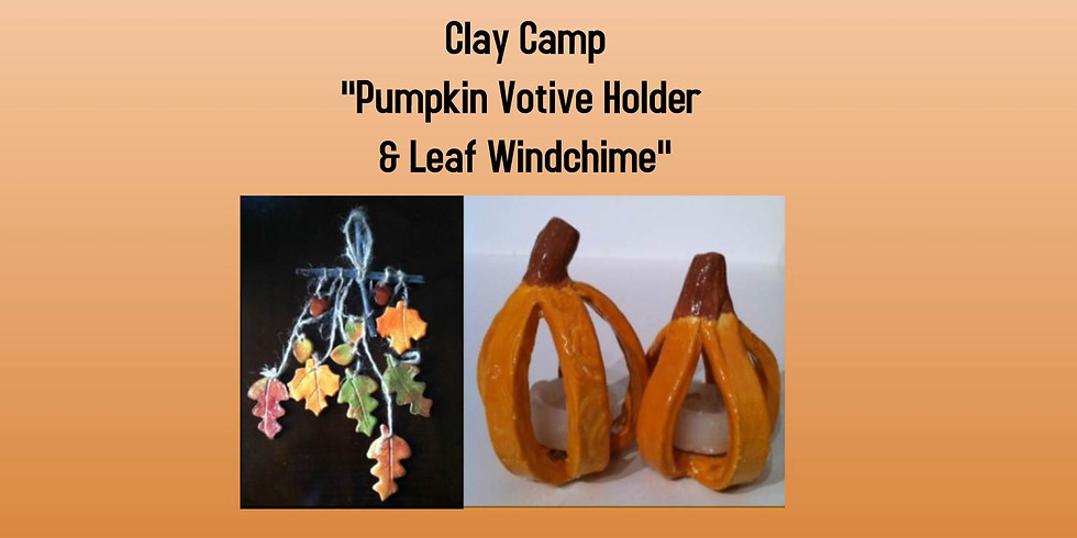 Clay Camp (Pumpkins & Leaves)