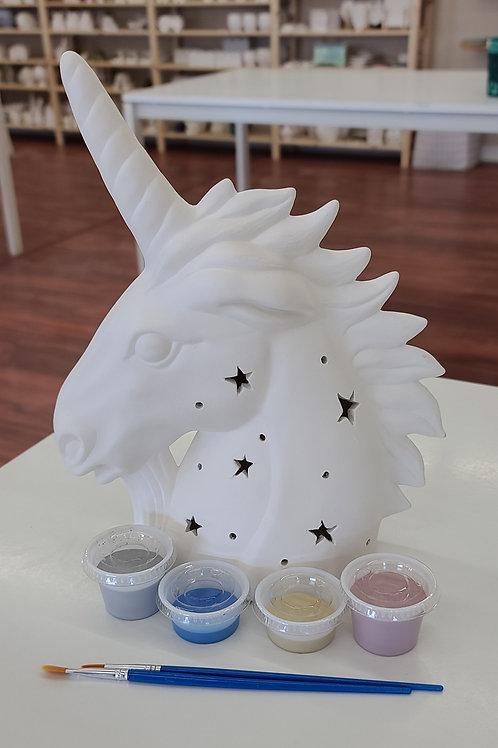 Light up Unicorn Pottery to Go Kit