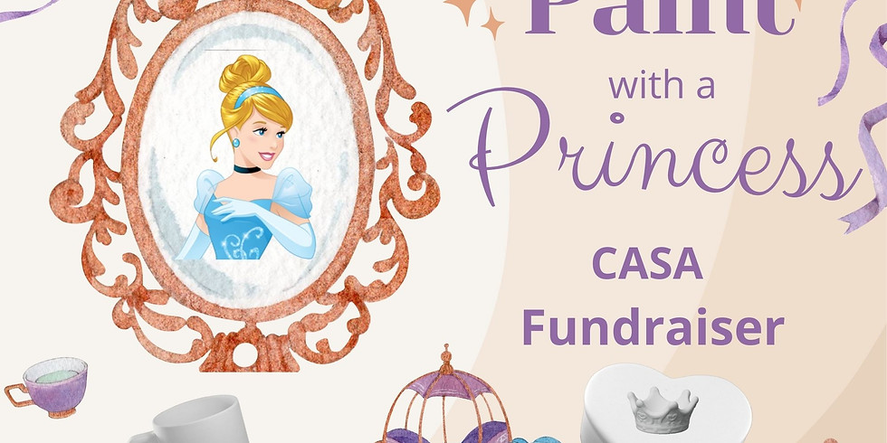 Paint with a Princess!!!
