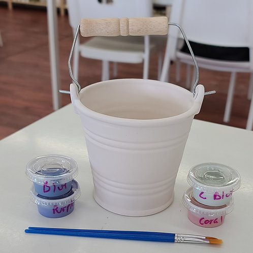Small Bucket Pottery to Go Kit