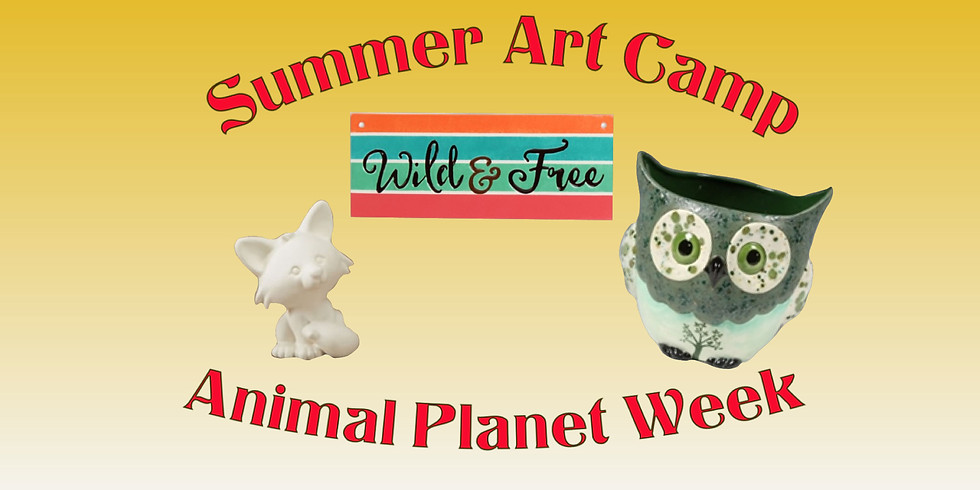 "Summer Art Camp ""Animal Planet Week"""