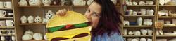 Pottery Painting - Hamburger