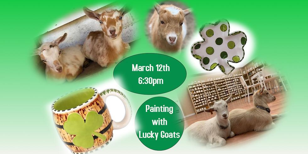 Lucky Goat Night w/ Potty Mouth Pottery
