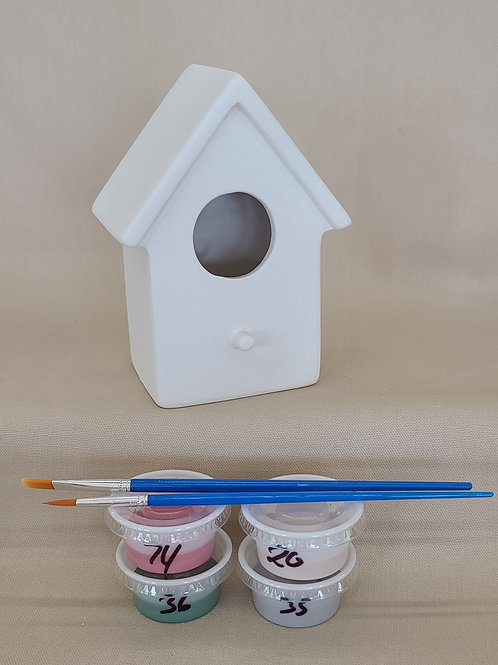 Plain Bird House Pottery to Go Kit