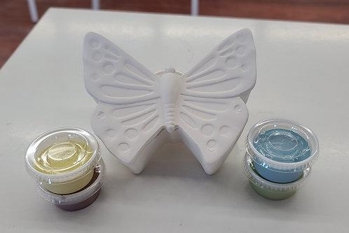Fancy Butterfly Box Pottery to Go Kit
