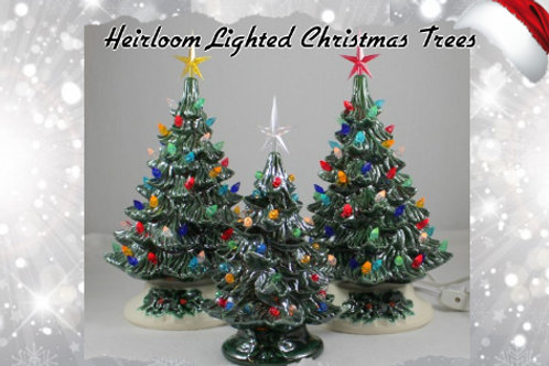 Deposit for Heirloom Ceramic Lighted Christmas Tree Pottery to Go Kit
