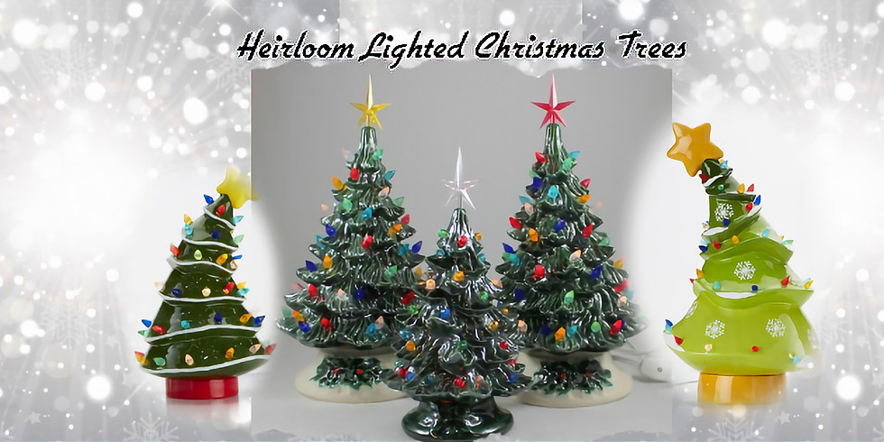 Heirloom Christmas Tree Painting Party  (1)