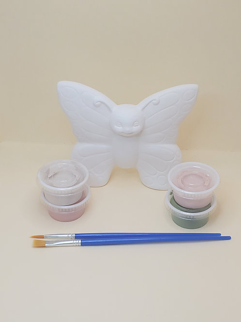 Belle the Butterfly Pottery to Go Kit