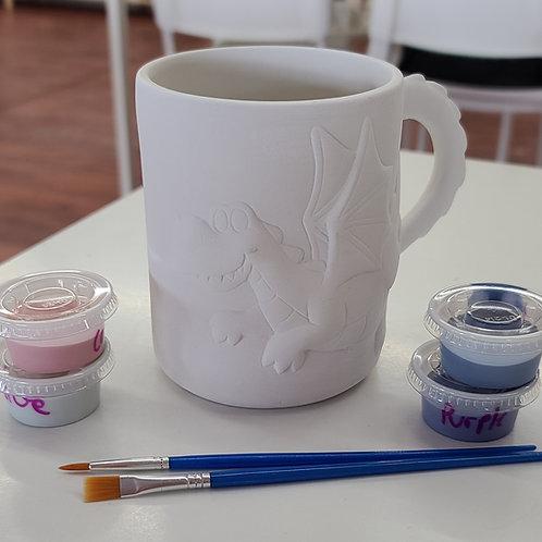 Dragon Mug Pottery to Go Kit