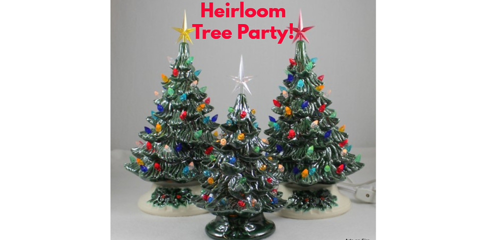 """Christmas in July """"Heirloom Tree Party"""""""