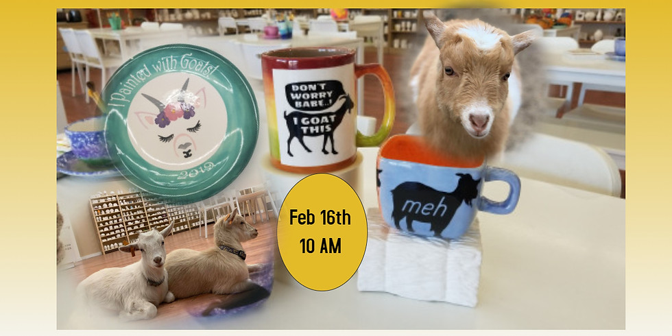 Painting w/ Goats Kid Style 2/16