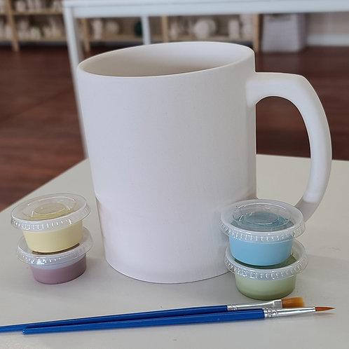 Big Brew Mug Pottery to Go Kit