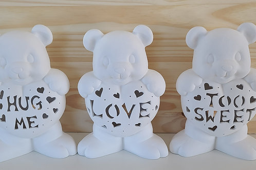 Personalized Bear with Heart