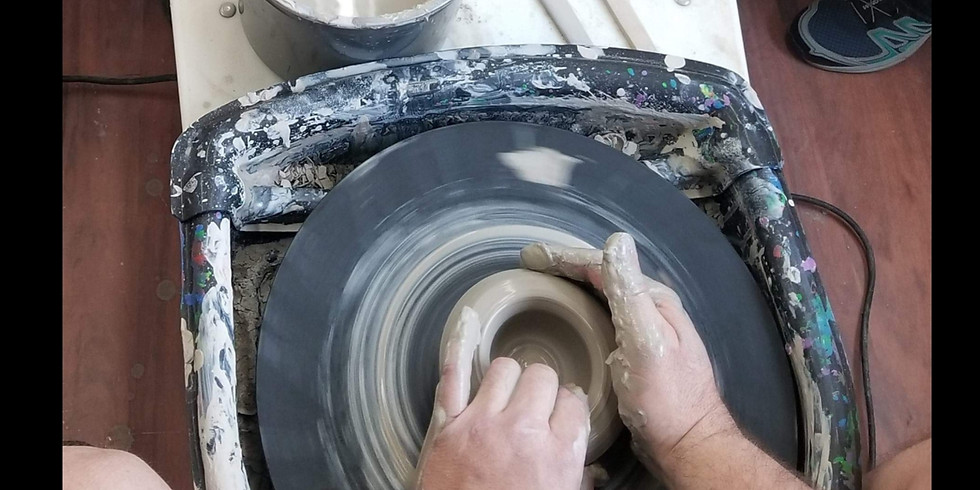 Pottery Wheel Workshop (Friday Special)