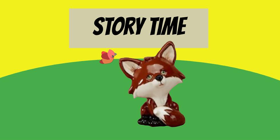 Story Time (Fox in Socks)