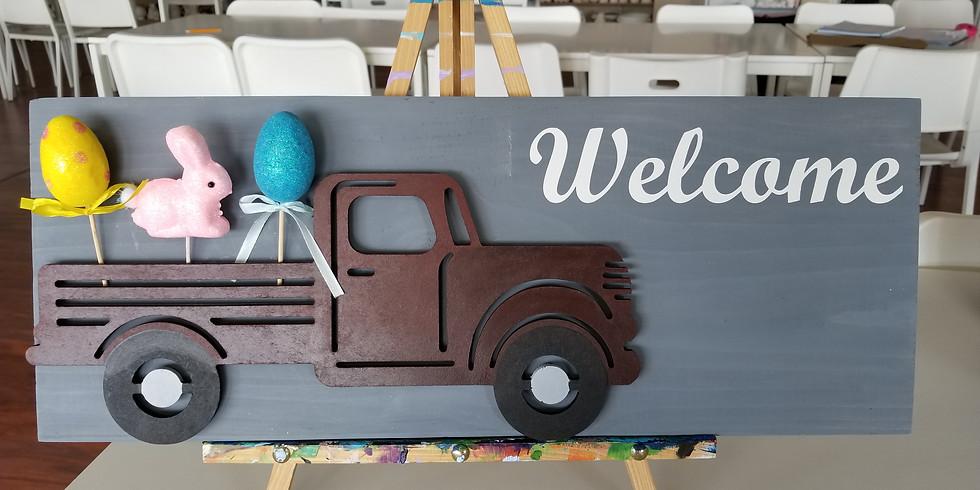 All Seasons Truck Sign  3/30