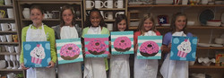 Birthday Party Canvas Painting