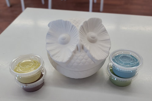 Owl Box Pottery to Go Kit