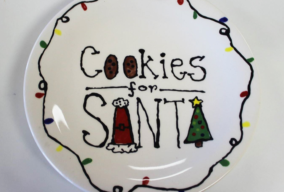 Cookies for Santa Pottery