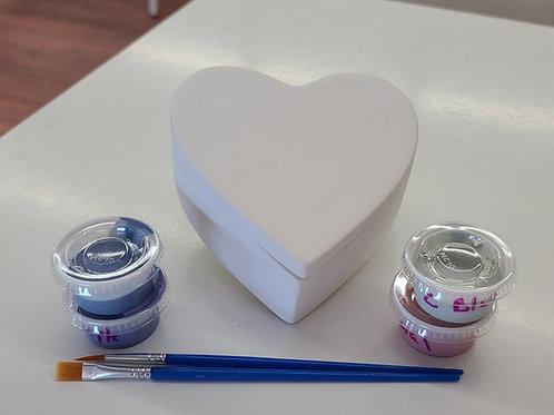 Med Heart Box Pottery to Go Kit