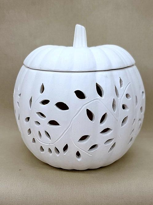 SM Leaf Design Pumpkin Luminary