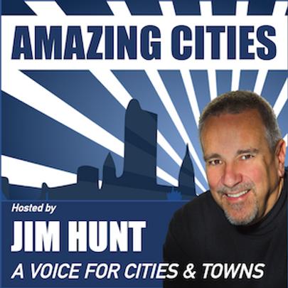 Amazing CitiesPodcast graphic 300 x 300.