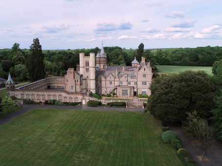 Aerial Drone Wedding Videography in Surrey, Berkshire, Hampshire