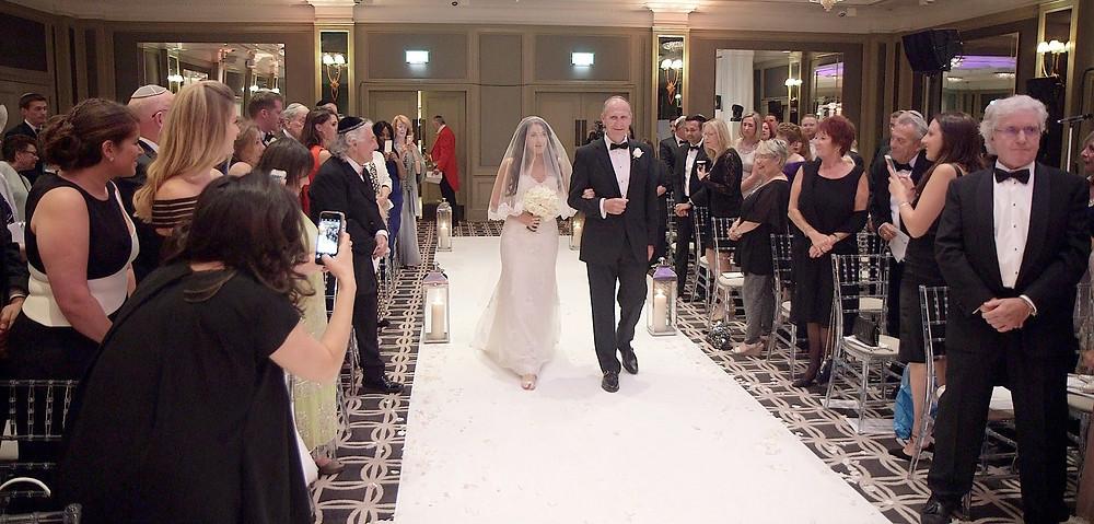 Churchill Hotel Wedding Videographer