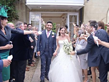 Wedding video at Northbrook Park, Farnham, Surrey | W4 Wedding Films