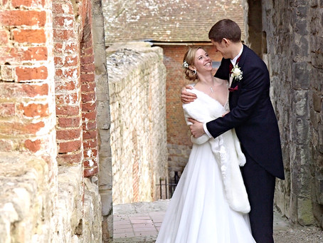 Springtime and Scalextrics. Our wedding video at Farnham Castle in Surrey.