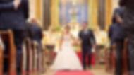 Wedding videographer St Peter's Italian chruch