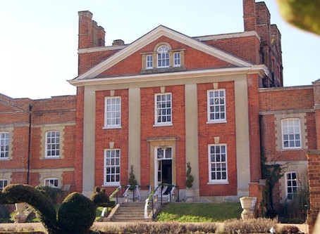 Warbook House, Hook, Hampshire. W4 Wedding Films are the preferred videographers!