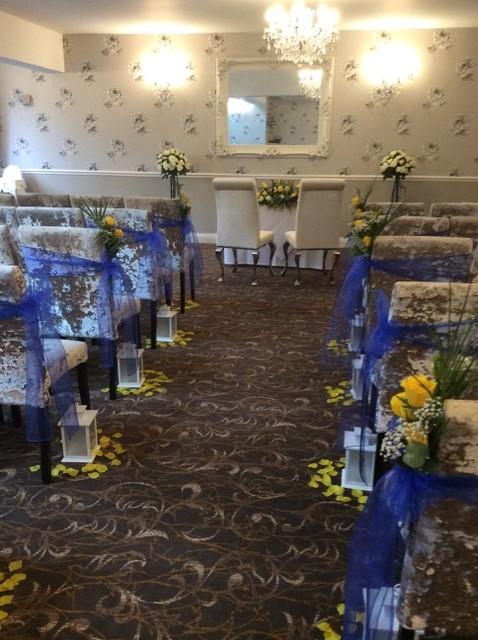 farnham house hotel wedding flowers