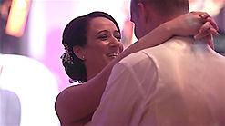 Des and Carla at their Irish Wedding