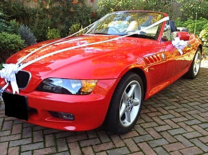 Our BMW Z3 | Car hire for weddings, Surrey, Berkshire, Hampshire and West London